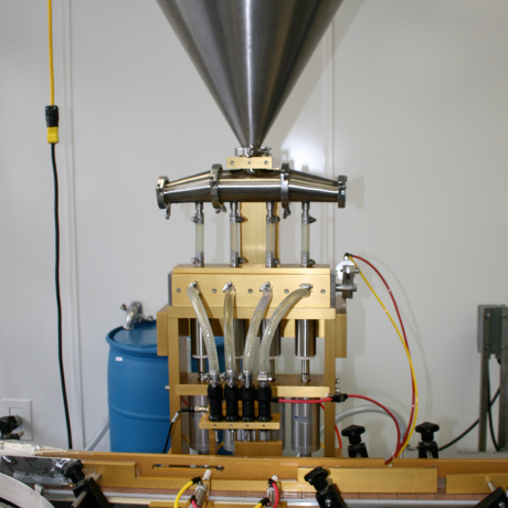GPM Four Head Bottle Filler – GPM-GBF4